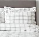 Kingston Oxford Pillowcase with Border - Single