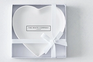 Porcelain Heart Soap Plate
