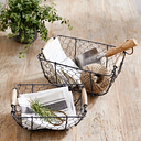 Wire Basket – Set of 2