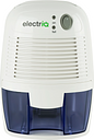 electriQ MD280 Mini Dehumidifier 500ml Tank - Ideal For Small Spaces