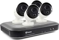 Swann CCTV System - 8 Channel 4K DVR with 4 x 4K Ultra HD Cameras & 2TB HDD