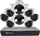 Swann CCTV System - 16 Channel 4K Ultra HD NVR with 6 x 4K Thermal Sensing Spotlight Cameras & 2 Spotlight Cameras - 2TB