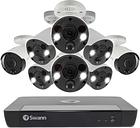Swann CCTV System - 16 Channel 4K Ultra HD NVR with 6 x 4K Spotlight Cameras 2 x 4K Bullet Cameras & 2TB HDD
