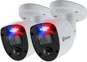 Swann 4K Ultra HD Enforcer Spotlight Analogue Bullet Camera - 2 Pack
