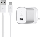Belkin BOOST UP Quick Charge 3.0 Mains USB Charger (Silver/White)