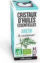 Cristaux d'huiles essentielles Aneth bio 10g