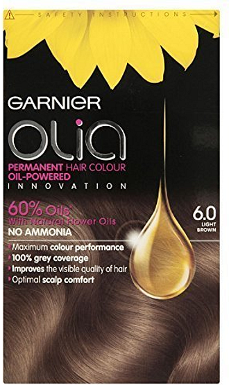 Garnier Olia Light Brown 6.0 Permanent Hair Dye