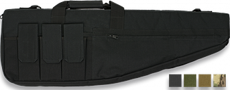 Funda De Arma larga de color Camo de 85 cm de nylon oxford 600D Martinez Albainox acolchado con cremallera