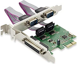 Tarjeta pciexpres conceptronic 1 puerto paralelo 2 puertos serie