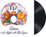 Queen - A night at the opera - LP - Unisexe - multicolor