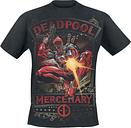 Deadpool - Mercenary - Camiseta - Hombre - Negro