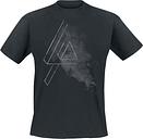 Linkin Park - Smoke Logo - Camiseta - Hombre - Negro