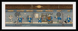 Fallout Special Foto enmarcada multicolor