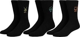 My Hero Academia Embroidered Crew Sock Set of 3