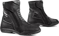 Forma Latino Botas de moto impermeables Negro 41