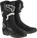 Alpinestars SMX-6 V2 Bottes de moto Noir Blanc 49