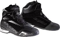 Ixon Bull WP Zapatos de motocicleta Negro Blanco 42