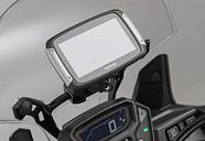 SW-Motech Support GPS pour barre Ø 10/12 mm - Noir. Noir unique taille