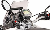 SW-Motech Support GPS QUICK-LOCK - Noir. BMW F800ST (06-12), G650GS...