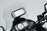 SW-Motech Support GPS pour cockpit - Noir. Kawasaki Versys-X300 ABS...
