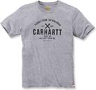 Carhartt EMEA Outlast Camiseta gráfica Gris 2XL