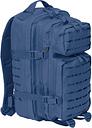 Brandit US Cooper Lasercut Medium Rucksack, blau, blau