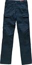 Blauer Stuart Cargo Canvas Motorrad Textilhose, Größe 30, blau, Größe 30