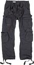 Surplus Airborne Vintage Hose, schwarz-grau, Größe M, schwarz-grau, Größe M