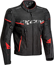 Ixon Sirocco Motorradjacke, schwarz-rot, Größe L, schwarz-rot, Größe L