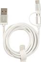 HEMA Câble Chargeur Micro-USB Et De Type C