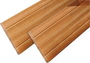 Planche pour cloture bois dur Bangkirai 395cm (16x145mm)