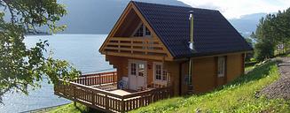 Cabane maison en bois Stavanger 5.2x7.8m (94mm)
