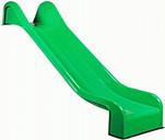 Toboggan vert portique aires jeux 365cm
