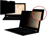 3M Black Frameless Privacy Filter for Edge-to-Edge 15.6 Widescreen Laptop