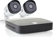 Yale CCTV System - 4 Channel 1080p DVR with 2 x 1080p Motion Detecting Cameras & 1TB HDD