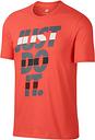 Nike Mens Jdi Tee - Orange - S