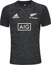 Adidas Mens All Blacks Performance Tee Rugby - Black - Xl