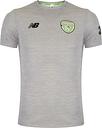Unisex New Balance Adult Ireland Leisure Tee Football - White - L