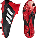 Unisex Adidas Adult Predator 18+ Fg Team Mode Football Boots - Black - 12