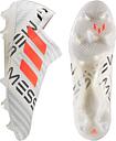 Men's Adidas Adult Messi Nemeziz 17+ Pyro Storm Football Boots - White - 9