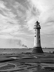 A1 Poster. New Brighton Lighthouse