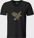 Koszulka męska z luźnym dekoltem Eagle