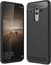 Coque Huawei Mate 10 Pro en TPU Brossé - Fibre de Carbone - Noire