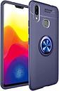 Custodia Magnetica con Anello di Supporto per Xiaomi Mi Max 3 - Blu