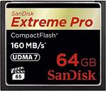 Scheda di Memoria SanDisk Extreme Pro Compact Flash SDCFXPS-064G-X46 - 64GB