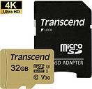 Scheda di Memoria MicroSDHC Transcend 500S TS32GUSD500S - 32GB