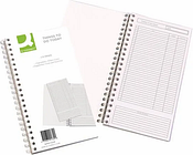Q-Connect Wirebound Things to Do Today Book (150x280mm)