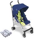 Maclaren Triumph Pushchair Stroller - Medieval Blue / Limeade