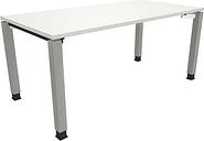 Manuell höhenverstellbarer Schreibtisch »Oldenburg« 160 cm 4-Fuß Quadratrohr
