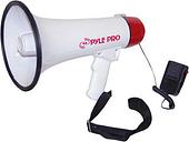 Pyle PMP40 Megaphone Bullhorn w/Siren and Handheled Mic